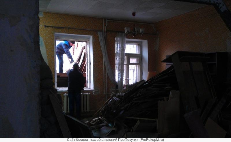 Демонтажные работы в квартире. Подготовка к ремонту