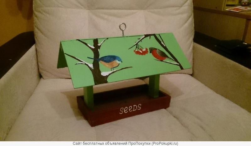 Кормушки и скворечники для птиц