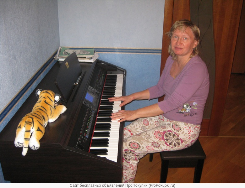 репетитор (фортепиано, синтезатор, сольфеджио)