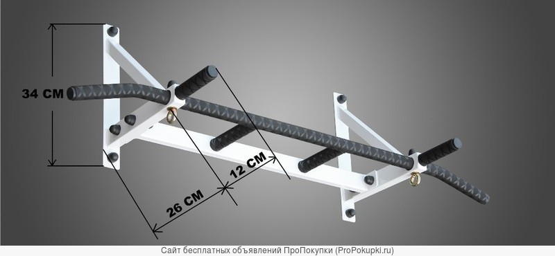 Турник наддверный (серия любитель – диаметр хватов 28мм.)