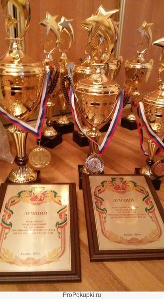 Кубки наградные изготовление в Казани