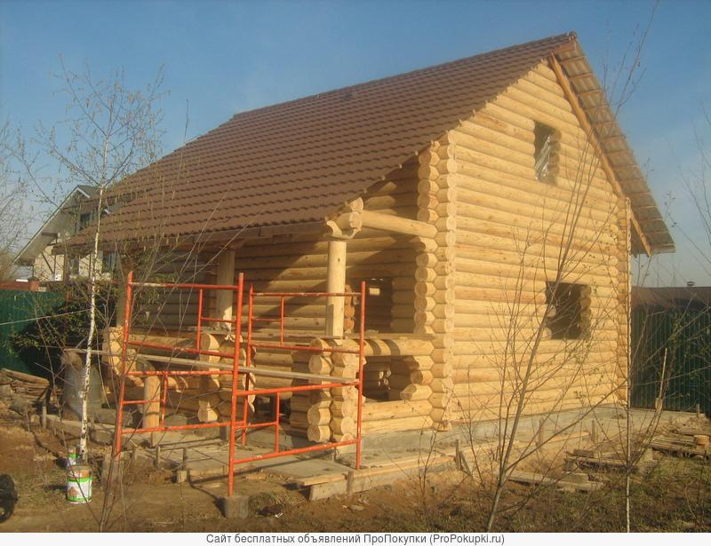 Строительство и отделка деревянных домов и бань.