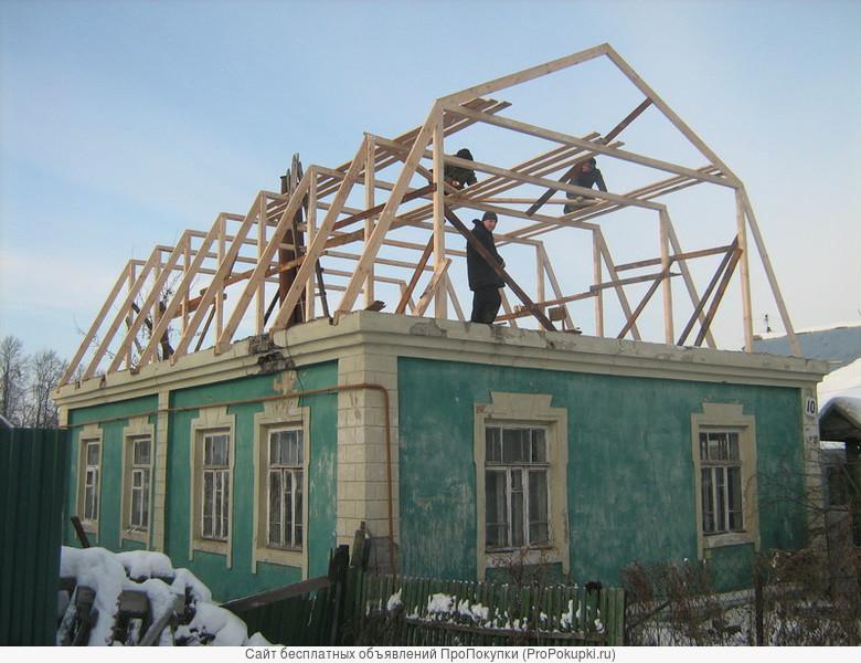 Строительство и отделка деревянных домов и бань