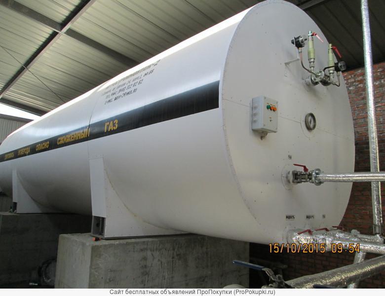 Изготавливаем резервуары для хранения углекислоты РДХ разного объёма