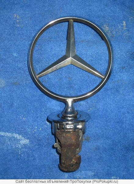 Для Мерседес W201 W126 W124 знак Мерседес в решётку радиатора