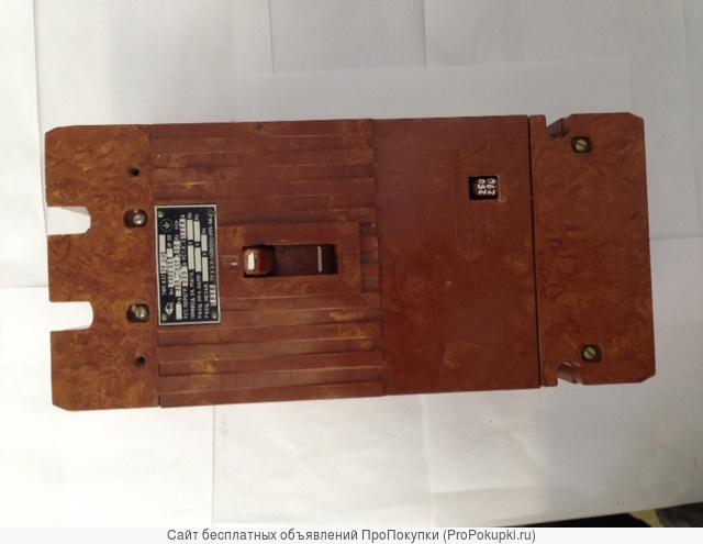 Автоматический выключатель А-3726Б 250А