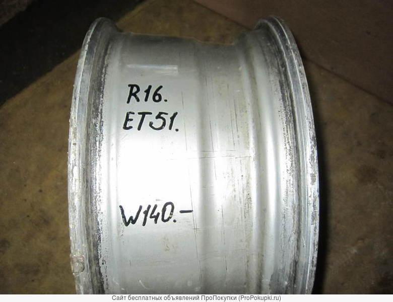 Литые диски R16 х ЕТ51 для Мерседес W140