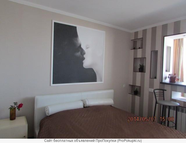 Сдам посуточно 2-комнатную квартиру в Парке Победы