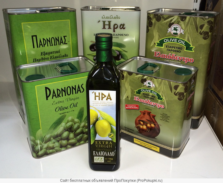 Оливковое масло - Греция