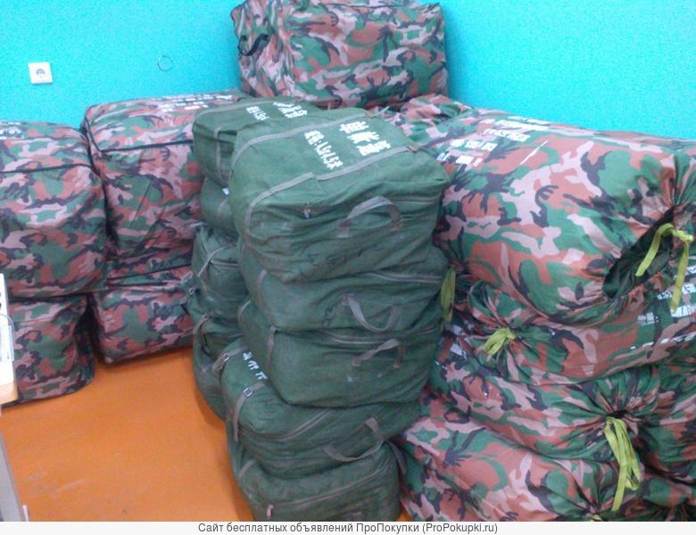 палатка армейская на 10,15,25,50 мест с маскировочной сеткой