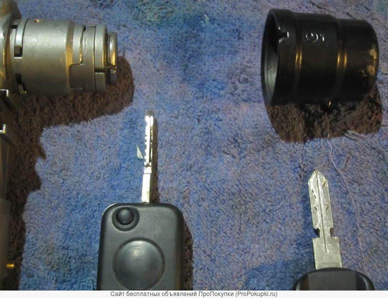 Замок зажигания с выкидным ключoм для Мерседес W124