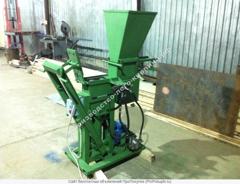 Гидравлическая установка для изготовления кирпича