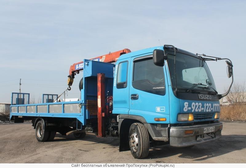 Услуги самогруза-эвакуатора в Новосибирске