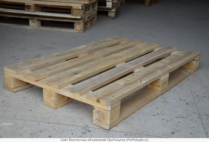 Поддоны, паллеты деревянные б/у 800х1200мм