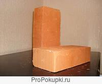 Кирпич фундаментный пр-во Чернянка, на поддонах по 300 и 400 шт.,