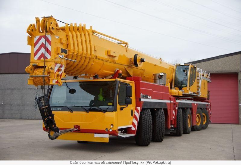 Аренда автокрана 300 тонн Liebherr LT-1300