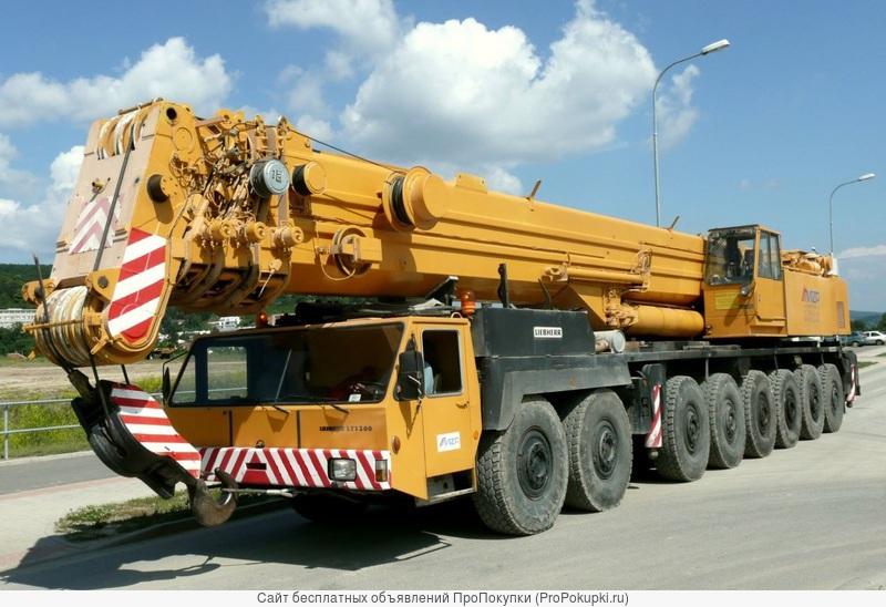 Услуги автокрана 300 тонн в Волгограде