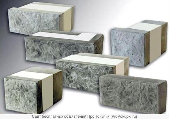 Формы для производства 3-4х.сл.теплоблоков с мраморной облицовкой
