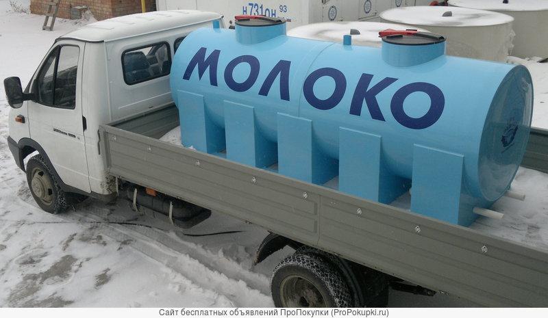 Емкости для транспортировки жидких продуктов
