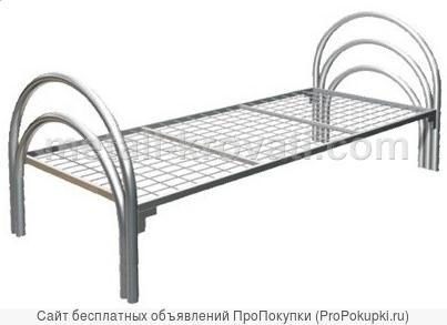 Кровати металлические для лагеря, кровати для строительных времянок, бытовок, кровати медицинские