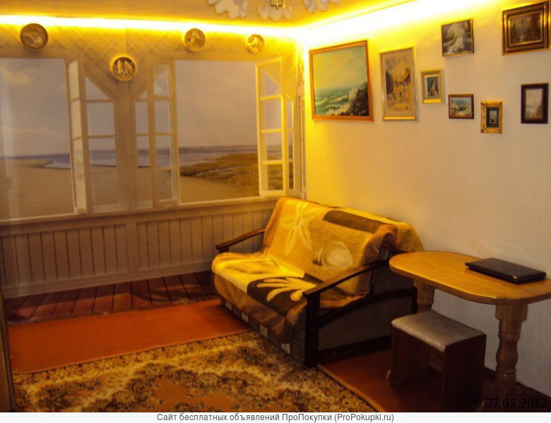 Мисхор- Большая Ялта- Крым. Однокомнатная квартира