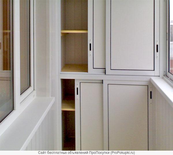 Шкаф на балкон фото