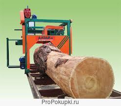 Угловая поворотная пилорама ПДПУ -550