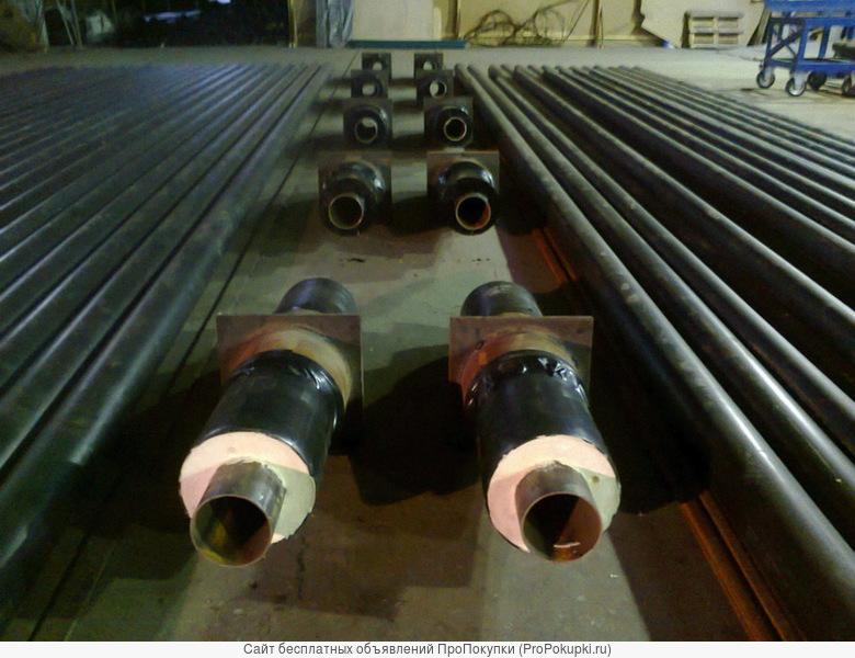 Производим теплоизоляцию труб ППУ от 57 мм до 1020 мм ПЭ/ОЦ оболочке