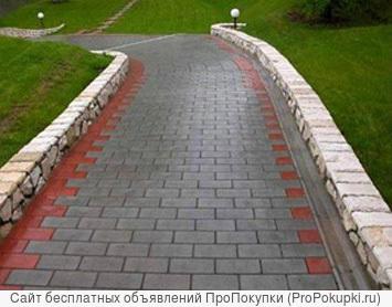 Укладка тротуарной плитки и асфальтирование