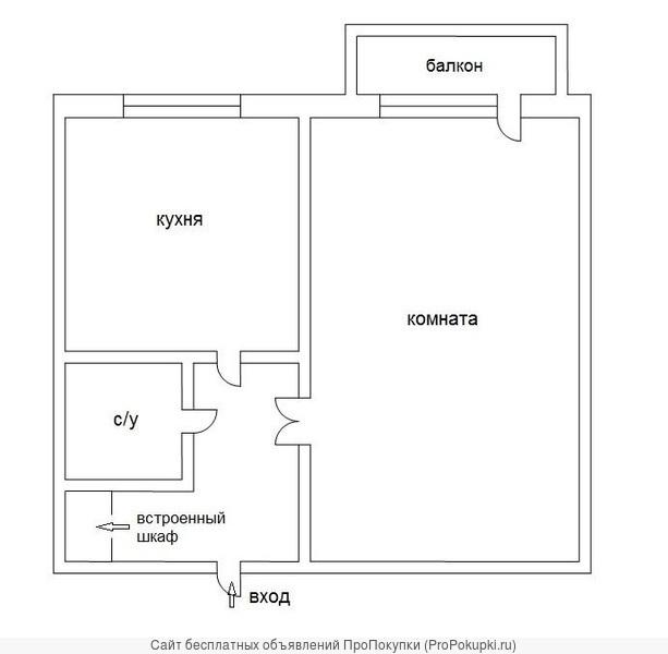 1к квартира Ленина