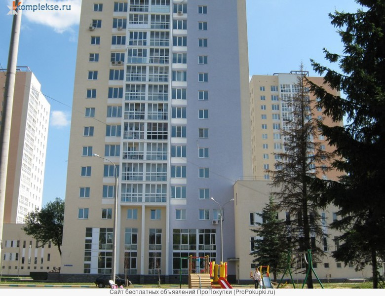 1-комнатная квартира с евроремонтом в ЖК