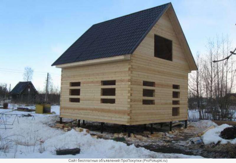 Строительство дома, бани, хоз. построек