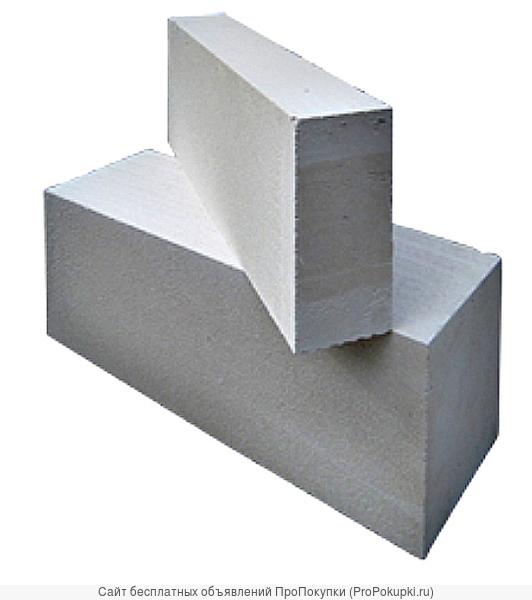 блоки газосиликатные 625*100*250 розница, опт