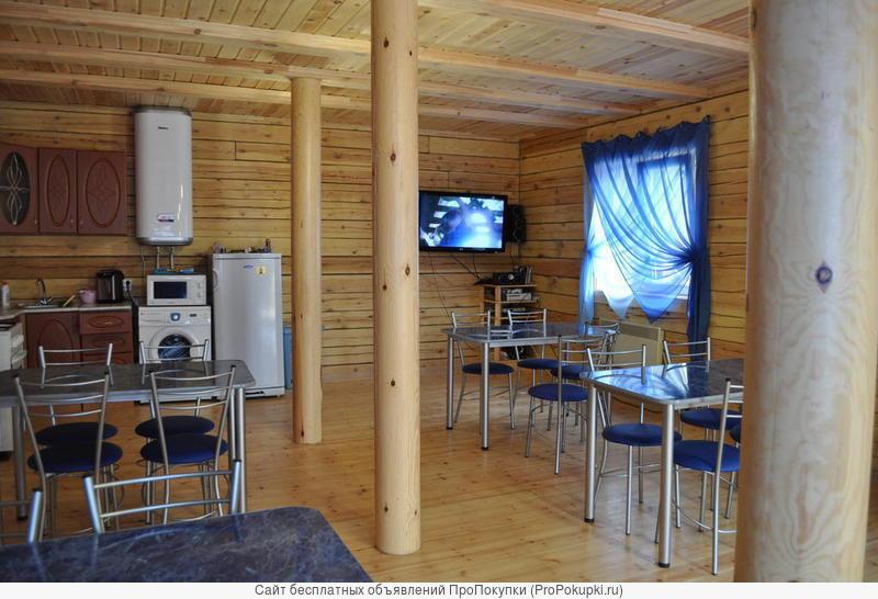 Гостиничный комплекс п. Листвянка на Байкале