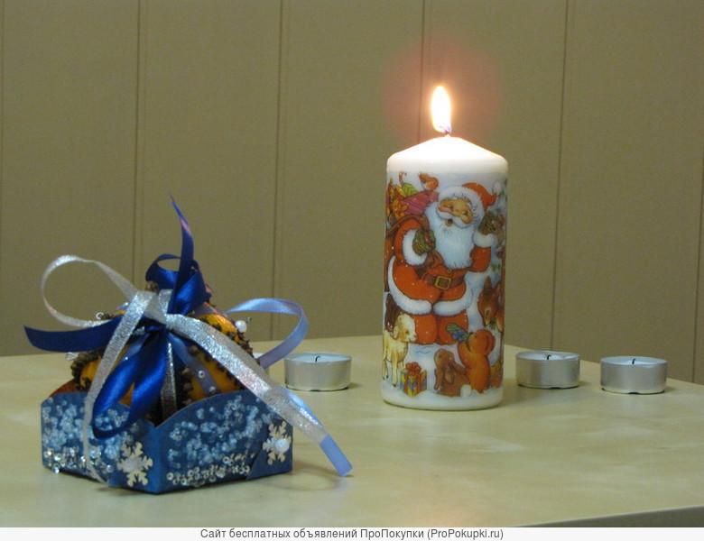 «Декупаж свечей» в Центре «Союз»
