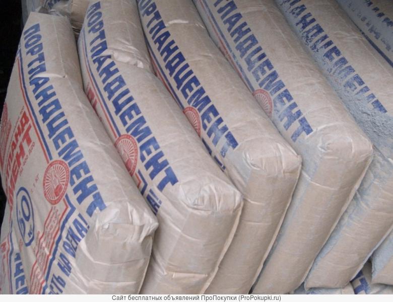 цемент (навалом и в мешках)