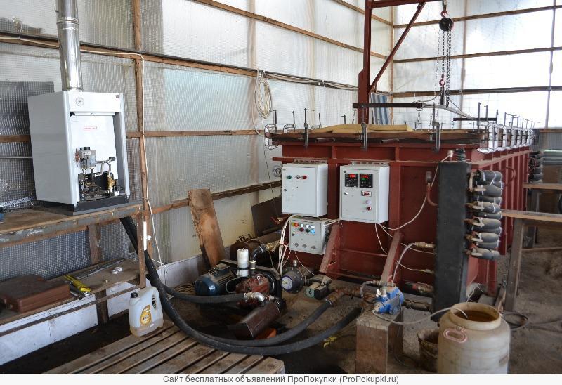Вакуумная камера пресс-сушки древесины