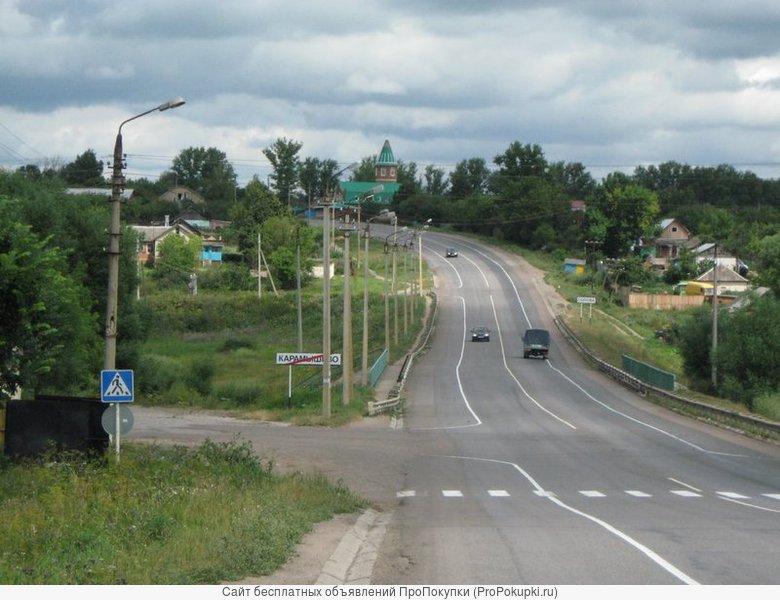 Продам участок 70сот. в с.Карамышево,Щёкинского р-на