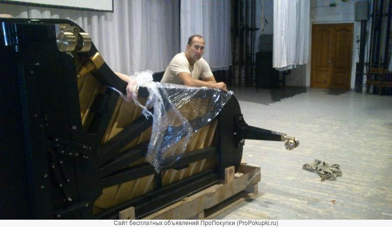 Перевезти пианино в Екатеринбурге. Грузчики.