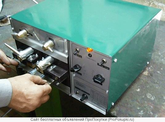 Сварочный аппарат для сварки ленточных пил в кольцо