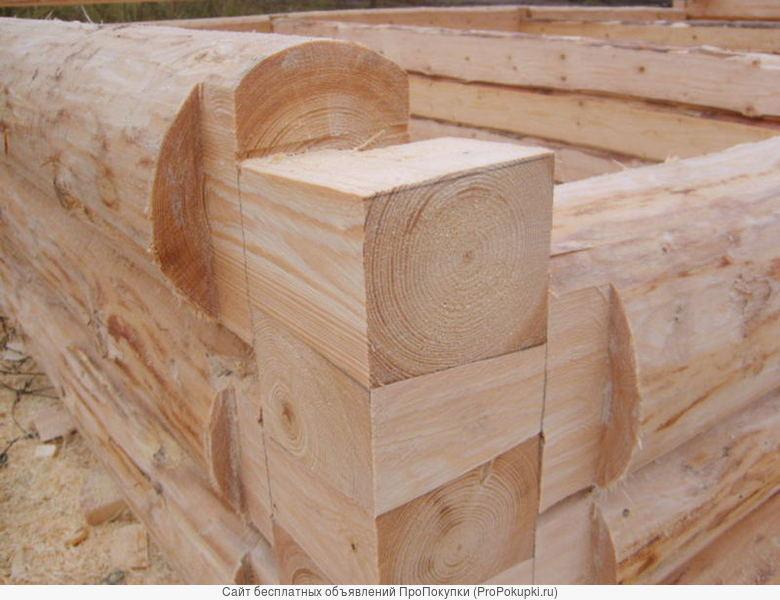 Срубы из Бурзянского района сосновые под бани и дома любого размера