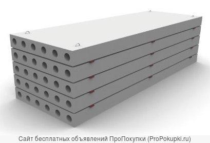 Плиты перекрытия ПК 63-15 (весь спектр)