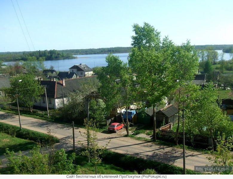 Участок в центре г.Пустошка, Псковской области