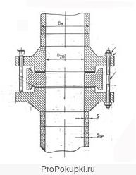 Фланцевые соединения для камерных измерительных диафрагм ФКВ