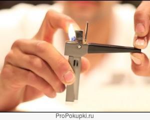 Курительная трубка с зажигалкой Wickie Pipe, 3 в 1