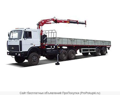 Аренда Манипулятора 10 тонн борт