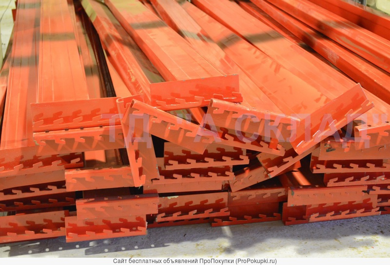 Балка грузовая для складских стеллажей.