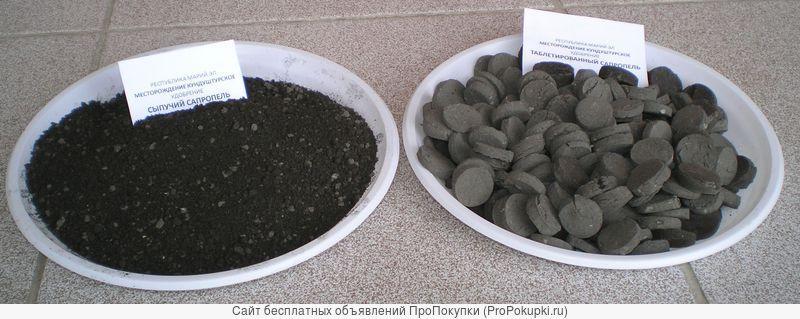 Оборудование добычи и переработки сапропеля в удобрения и корма