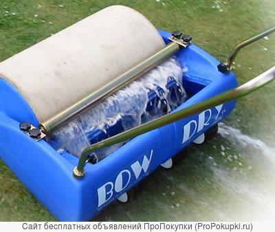 Лужи на спортивных и газонных покрытиях, устройство для сбора