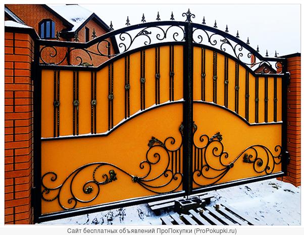 Недорогая ковка ворот,оградок